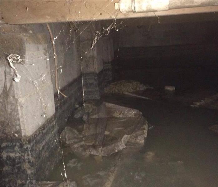 Sewage Leak in Local Business Before