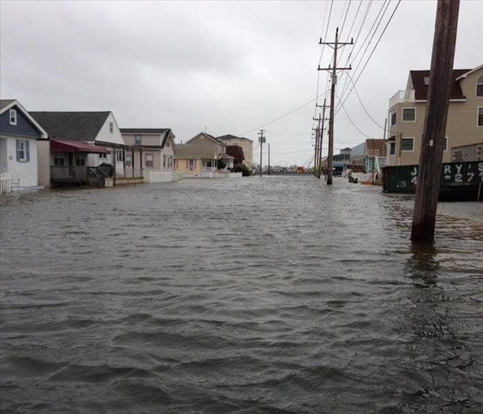 Flooding in Cape May Country streets