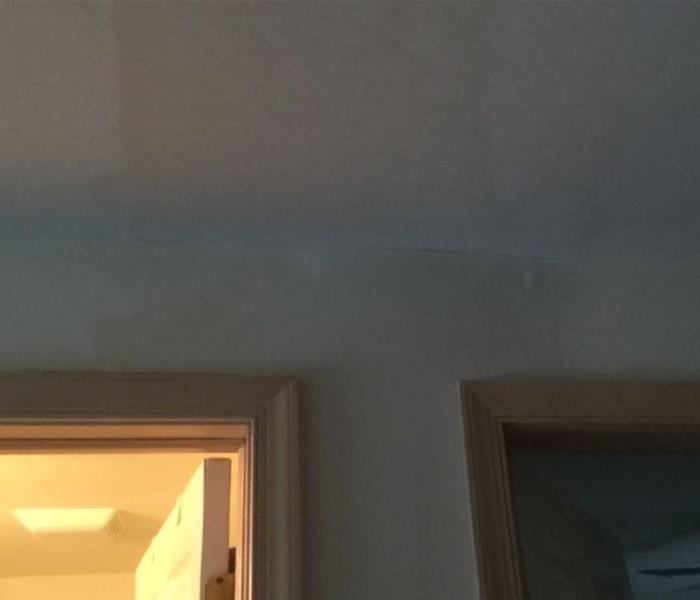 Water leak from ceiling