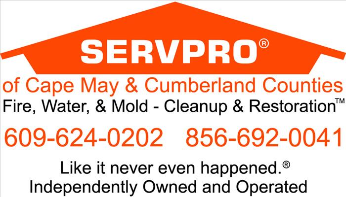 General Our Highly Trained Restoration Specialists can Restore your Cape May County Home or Business.