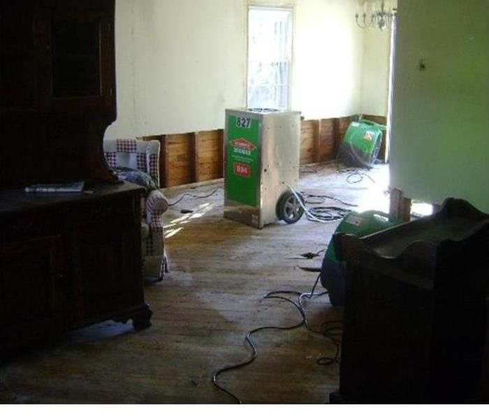 Storm Damage When Storms or Floods hit Cape May County, SERVPRO® is ready!