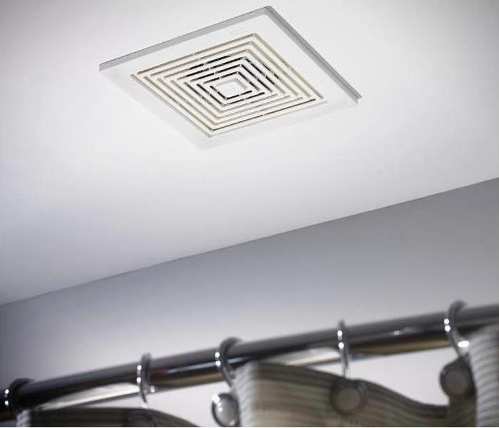 Photo of air vent in ceiling of a home