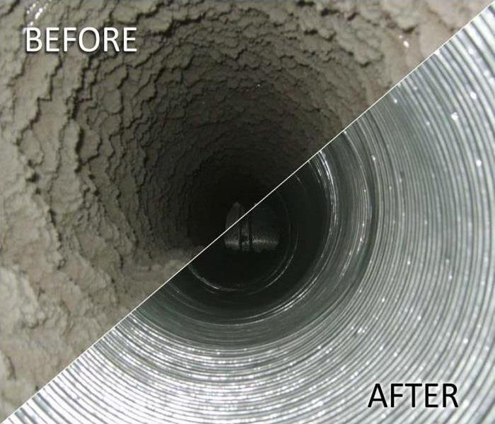 Cleaning THE SERVPRO DUCT CLEANING PROCESS